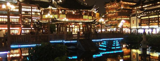 上海一人旅〜意外と宵っ張りな豫園〜