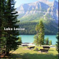 【夏カナダ Vol.4】 Lakeside Walk♪ モレイン湖とレイク・ルイーズの湖畔を歩く <Day-3>