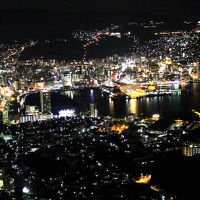街全体を煌き彩る稲佐山夜景と一口餃子「宝雲亭」編◆初LCC/Peachで長崎へ