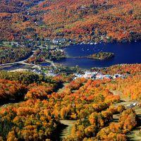 紅葉を見るなら世界一のカナダ・ローレンシャン高原へ!