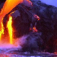 ハワイ火山国立公園周辺