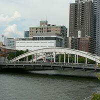 日本の旅 関西を歩く 大阪市、堂島大橋(どうじまおおはし)南詰周辺