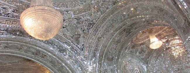 イランの旅再び(ゴレスタン宮殿)