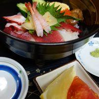 2013 若冲と仙台 朝食は、朝市の庄家にて海鮮丼の巻