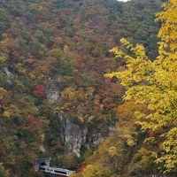 バスツアーで紅葉彩る山形、宮城路2日間へ② (銀山温泉・鳴子峡)