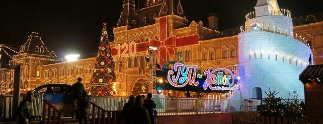 冬の幻想...煌めきのモスクワにPrivet☆