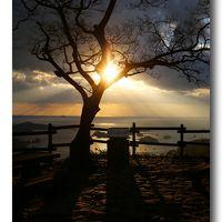 Solitary Journey [1305] 映画「ラストサムライ」にも出た雄大で美しい夕景'石岳展望台'<2013-2014年末年始の旅>長崎県佐世保市