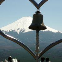 世界遺産の旅2日目〜河口湖から望む富士山〜
