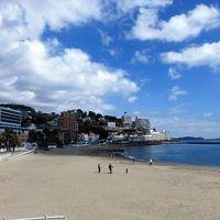 日本の旅 東海地方を歩く 静岡県熱海市の熱海サンビーチ、熱海駅(あたみえき)周辺