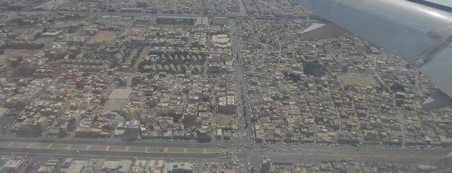 弾丸サウジアラビア1405  「空港内で7...