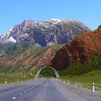 新疆キルギス・カザフ旅5▼中国⇒キルギス国境越え