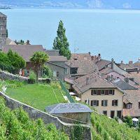 山と湖に囲まれた初夏のスイスは最高 その3 レマン湖畔