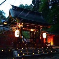 〜幻想灯夜〜 竹燈籠の灯りにゆらめく・・・瑞鳳殿七夕ナイト