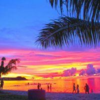 美しすぎるグアムのビーチとサンセット
