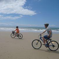 ポートダグラス家族旅行�5日目〜自転車で4マイルビーチ