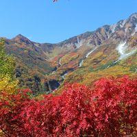 秋の立山黒部アルペンルート�(扇沢〜黒部平)2014年10月