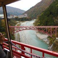 秋の立山とトロッコ列車のツアー