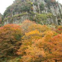 耶馬溪の紅葉と折戸温泉