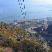 琵琶湖バレイ ロープウェイから紅葉