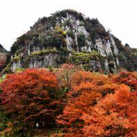 九州の旅 立羽田の景、深耶馬渓、耶馬渓、九酔渓、夢大吊橋、大観峰(11月18日)