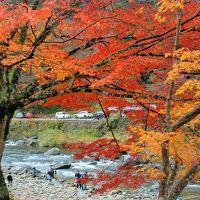 香嵐渓の紅葉を素晴らしかった