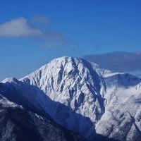日本最上級の別嬪さん3人に囲まれて… / 冬の鳳凰三山①
