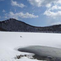 冬の東北プチ湯治(3)歩いて潟沼