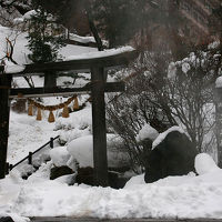 2014年の締めくくりは東北へ(その3、山間の名湯鳴子温泉)