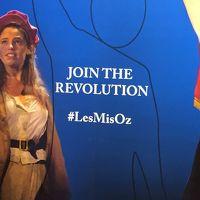 友を訪ねてシドニー Day 5 Les Miz Oz