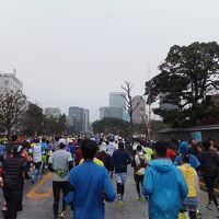 2015 東京マラソン【その5】マラソン編 日比谷から折り返しまで