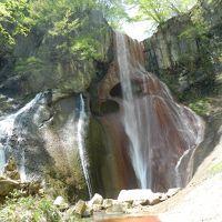 不思議というより不気味な姿の滝/『嫗仙の滝』◆2015GW・群馬県&長野県の滝めぐり≪その3≫