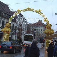 スイス・フランスのクリスマス12(ストラスブールの朝)