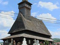 ROMANIA11 ポイエニ村4 宿のおじさんと隣村の教会行事へ Poienile Izei, Sieu