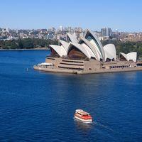 シドニーに4泊: オペラハウス,ハーバーブリッジなど主だった所を巡った