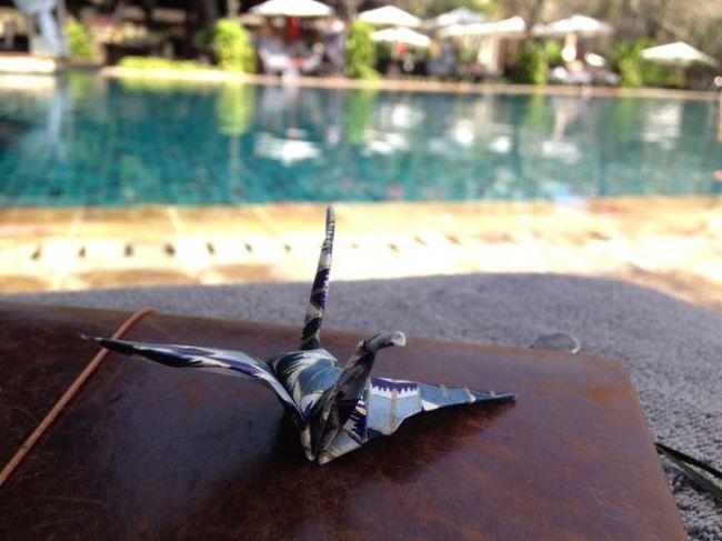 沖縄にばっかり行っているのでなかなか海外に行かず、3年に一回くらい。<br />今年は初東南アジア、そしてホテルでのんびりバカンスを過ごす旅にしよう!と決めたのが6月。<br />既にガルーダの直行便は高いチケットしか空きが無いので、タイ航空のバンコク乗り換えのチケットを往復¥68,000で購入。<br />そしてホテルはこちらの旅行記を見て、ここ!と決めたInterContinentalのクラブルームで5泊。<br />最高ののんびりバカンスを過ごす事が出来ました。<br />帰る日に空港が噴火の影響でクローズになり、帰国が2日後に延びるというオマケ付きでございます。<br />しかしまあオマケのおかげでクタの喧噪も味わう事が出来、総じて大満足の旅でありました~。