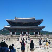 家族揃って ソウル旅行