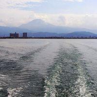 伊吹山・竹生島クルーズと琵琶湖ぐる~り10景めぐり:伊吹山と朝陽・竹生島クルーズ