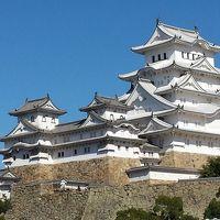 姫路城へ、前日はUSJハロウィンホラーナイト。
