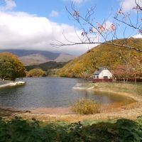 七ヶ宿 黄葉の長老湖~やまびこ吊り橋