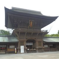 回顧録 2014年9月 九州出張ついでの周遊(5) 福岡市 香椎宮・筥崎宮など
