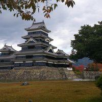 一枚の葉書に誘われて…晩秋の信濃路一人旅 vol.4 アルプスの空旅と夜の松本♪ 最終日は松本城と中町を訪ねて帰宅。
