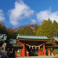 初冬の日光  明智平〜二荒山神社〜華厳の滝、 日光田母沢御用邸