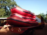 2015年末年始は東アフリカ4ヶ国の旅(4)ジンジャでナイル川のラフティングを堪能したら夜行バスでナイロビへ