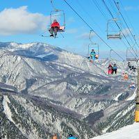 年末年始は白馬山麓スキー三昧(鹿島槍〜八方尾根〜岩岳)