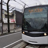 2016年1月周遊乗り放題きっぷ中央エリアの旅4(富山市内軌道線)