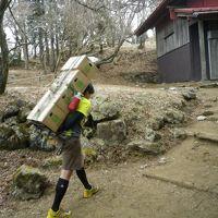 正月太り解消を期待して大山詣で