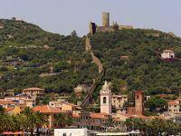 ツール・ド・エウロパ 2015 イタリア編 3 棕櫚のリビエラ  (アラッシオ & アルペンガ & サヴォーナ etc)、イタリアの美しい村(ノーリ)付きです。