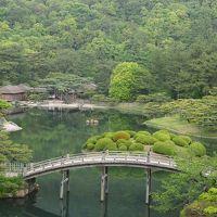 香川一人旅 その2  栗林公園、丸亀城、金刀比羅宮