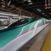 開業3日目で北海道新幹線に乗車