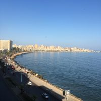 AA航空の特典航空券使って ビジネスクラスやけどバックパッカー・エジプト旅� エジプト国鉄乗ってアレキサンドリアへ